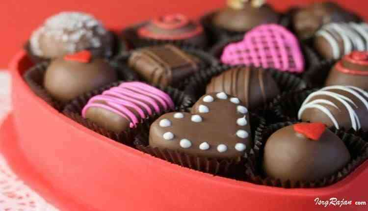 Chocolates as gift