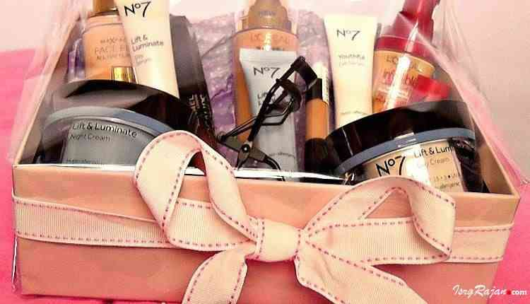 Cosmetics as gift
