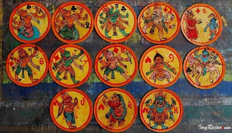 Dashavatar Cards and other Ganjifa