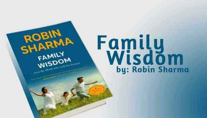 Book Family Wisdom by Robin Sharma