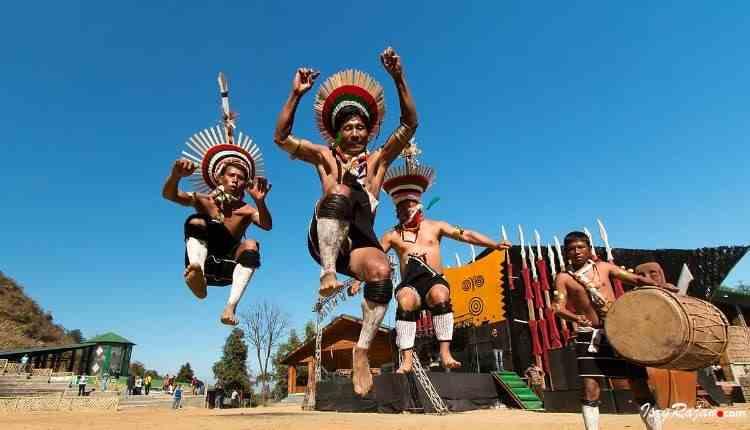 Naga culture in Hornbill Festival