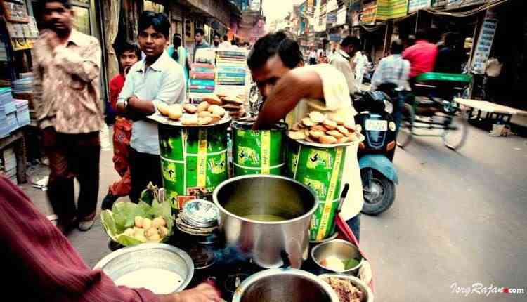 Road Side Food in Kolkata