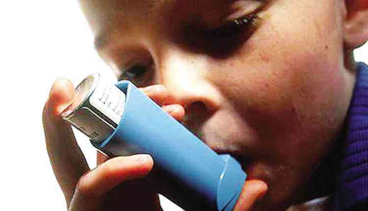 asthma affected Kid