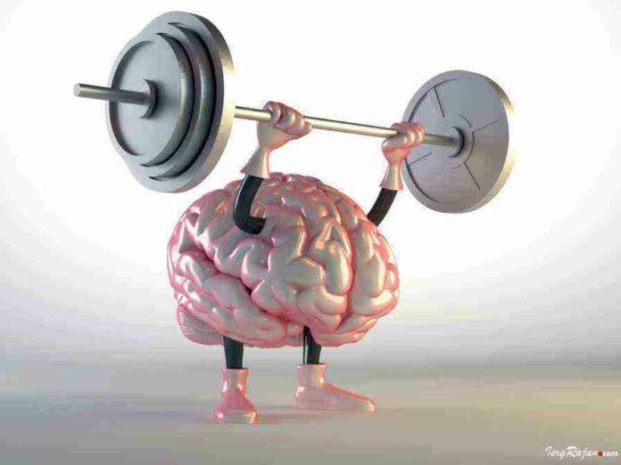 Healthy Brain, Brain doing exercise