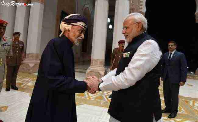 Narendra modi in Oman