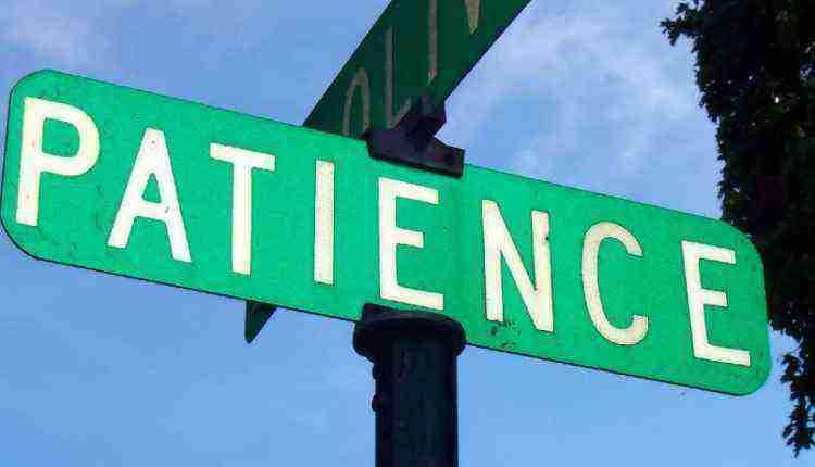 Patience in Bogging