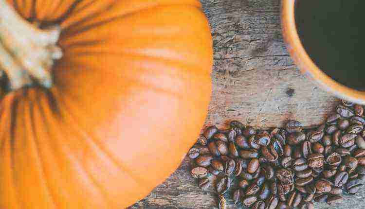 Pumpkin with Coffee