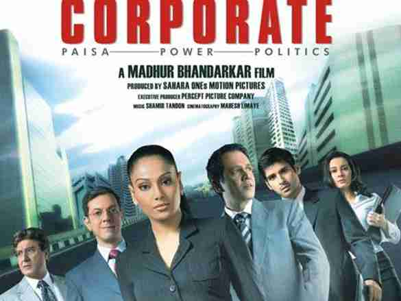 Corporate movie poster, Bipasha Basu