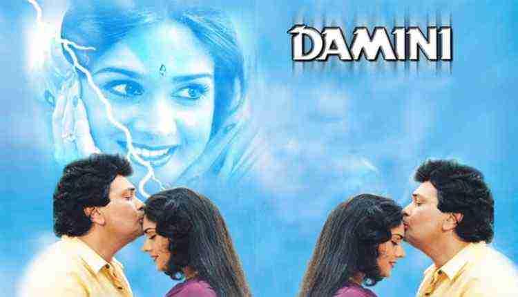 Meenakshi Seshadri as Damini in Damini