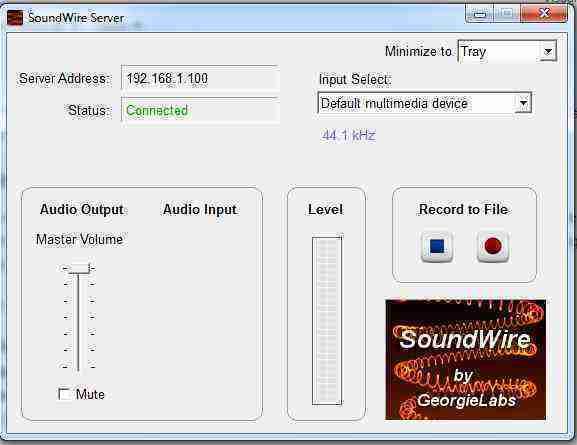 SoundWire server