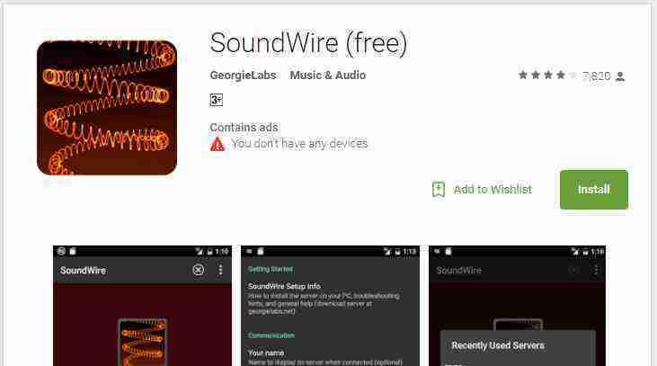 Soundwire app