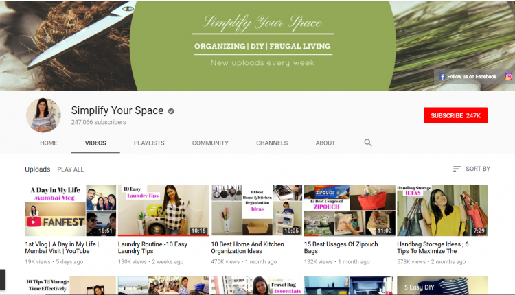 YouTube Channel for Organization: Simplify Your Space