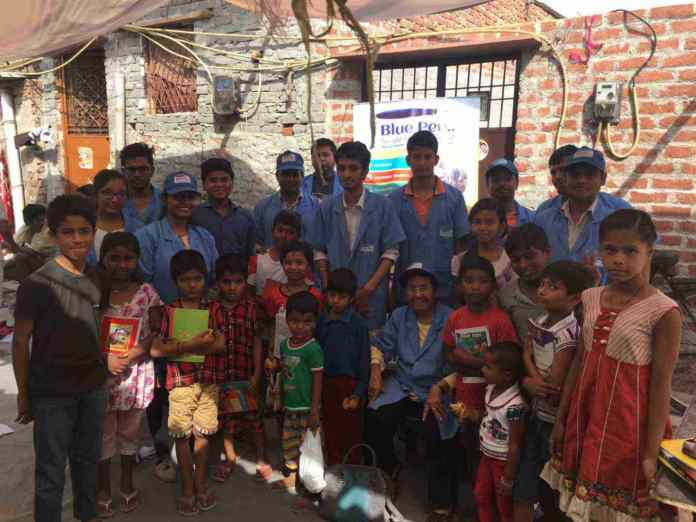 Blue Pen NGO Volunteers
