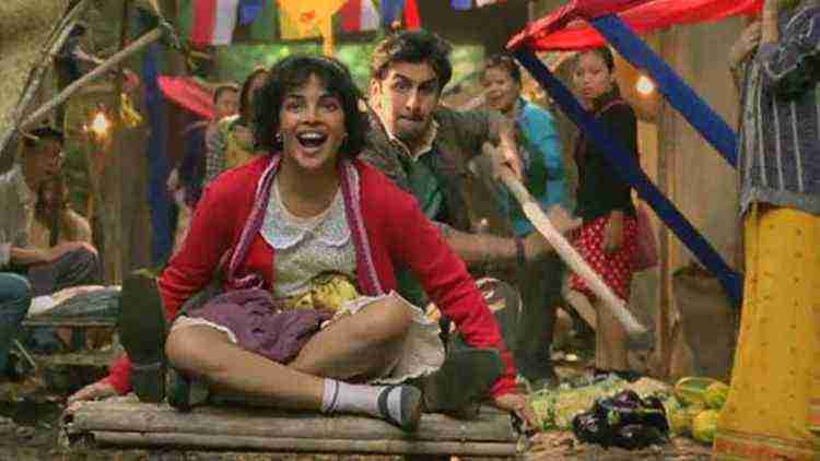 Priyanka as Jhilmil in barfi