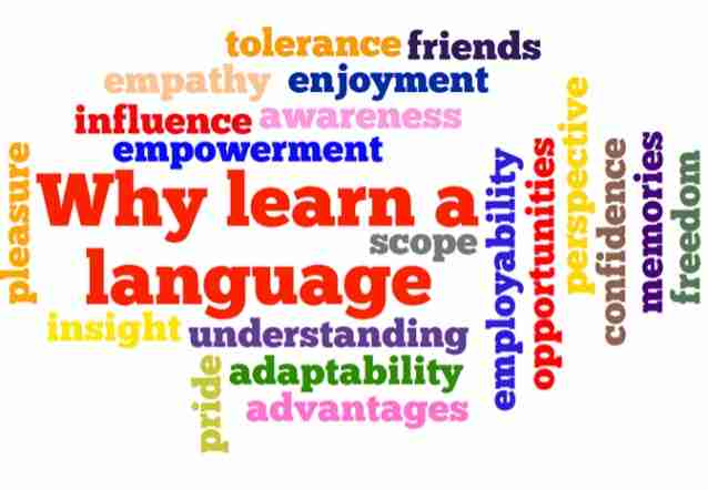 word cloud, learn new language