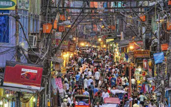 New Delhi shopping markets
