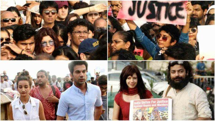Protest against rape in India