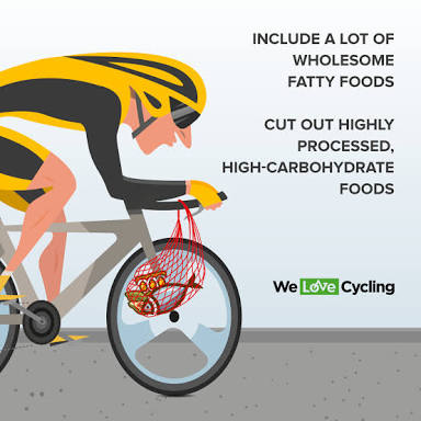Cyclist, Diet Plan, Dieting