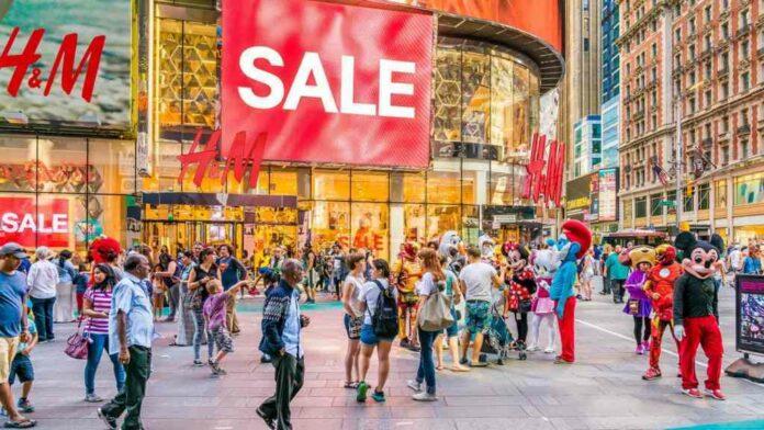 Sales, mall