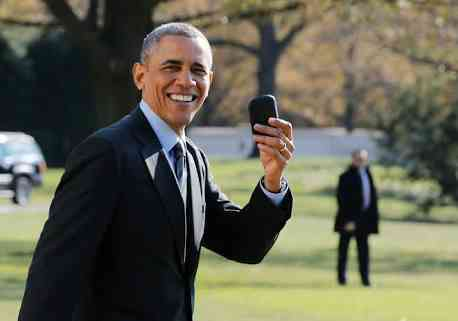 US President, BlackBerry