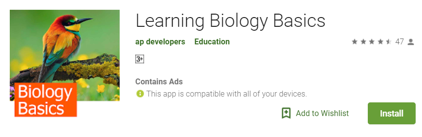 Learning Biology Basics