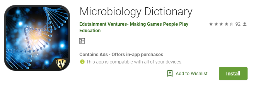 Microbiology Dictionary