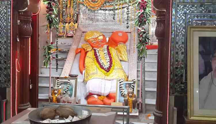 Khole ke Hanuman Ji Temple,Kunda, Jaipur