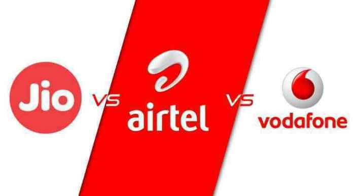 jio vs airtel vs vodafone
