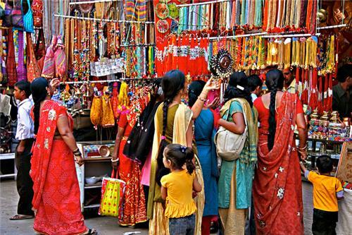 Durga Puja, Shopping season