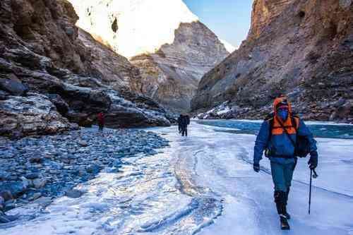 ice skating, Chadar Trek