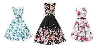 flora, dresses, printed dresses