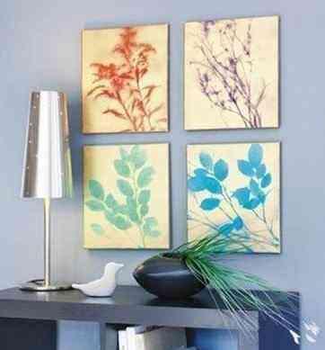 Leaf Motif Painting