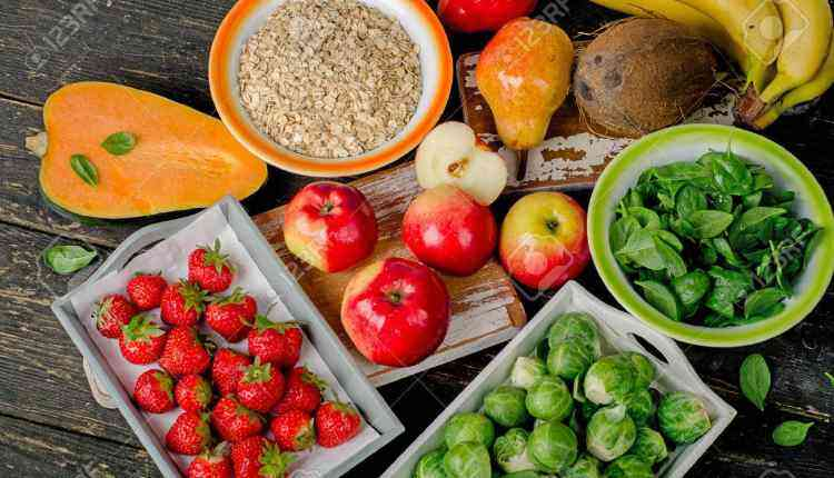 fibre rich fruits, food