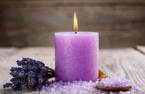 candle, purple candle