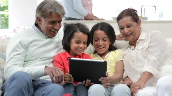 Indian grandparents