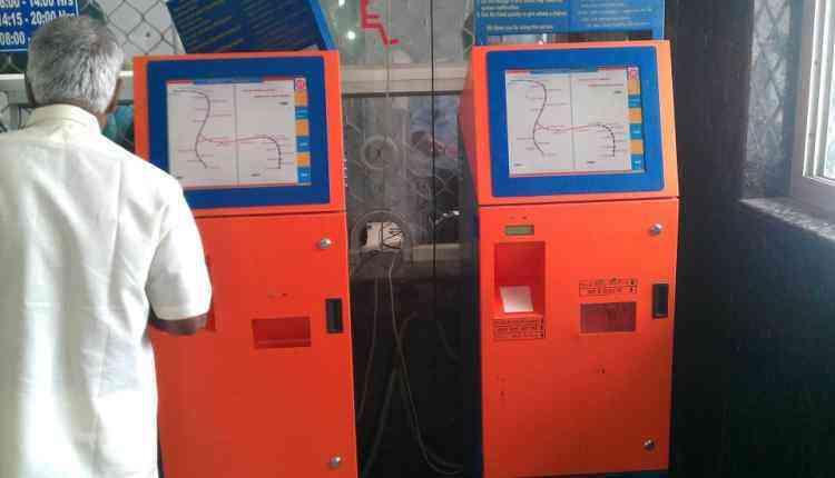 ATVM Machine, India, Indian railways