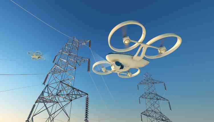 Development of Drone for fixing High Tension wire