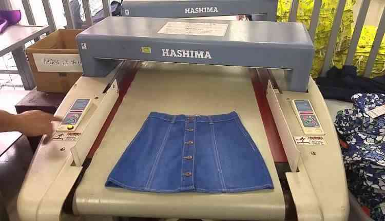 Simplification of garment scanning