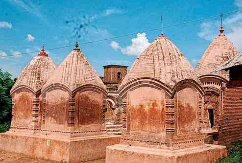 Terracotta temples of Maluti