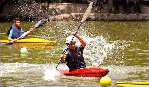 Water and paragliding sports in Giridih