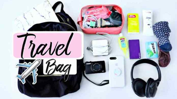 travel essentials for man and woman