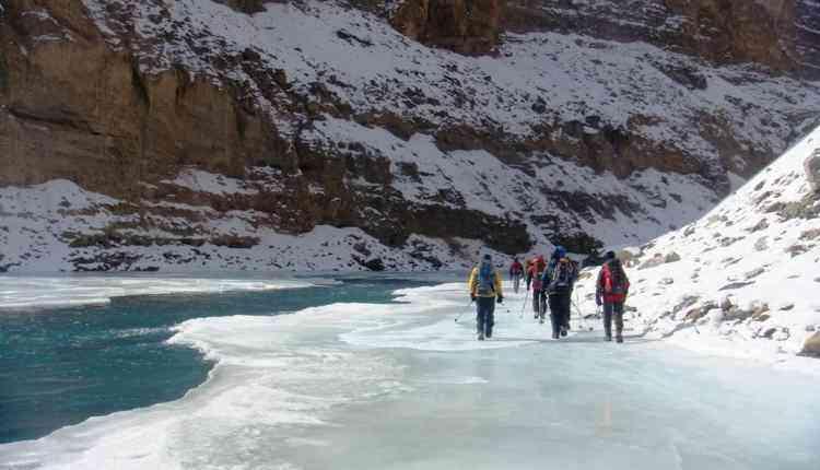 Zanskar Frozen River, Ladakh