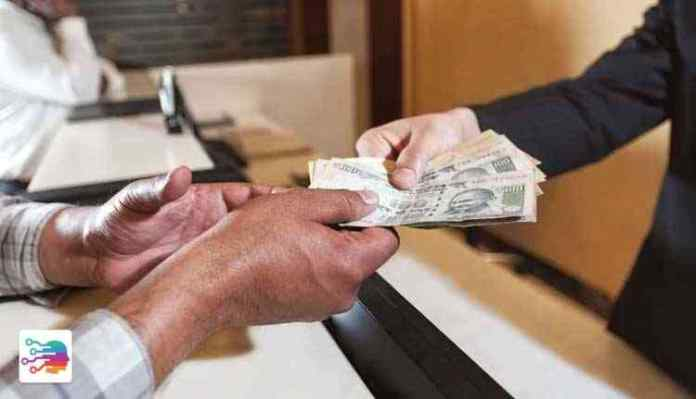 corruption, Indian currency in hand