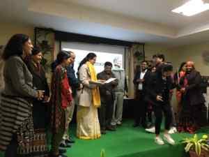 Isrg Rajan, Dr. Vandna Bhalla, sri aurobindo college, Vipin Aggrwal