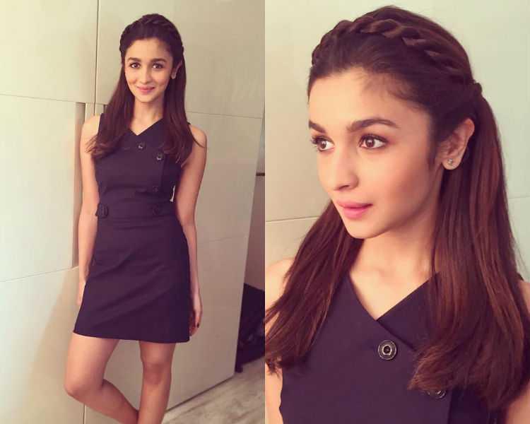 Alia Bhatt, Short hairstyle