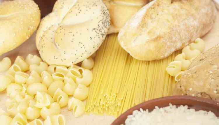 White Bread Sugar Rice Pasta