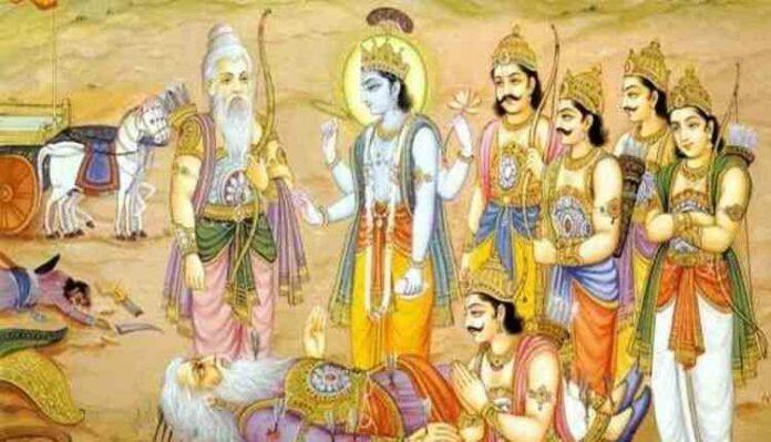 Bhishma Pitamah, Karan and Arjun