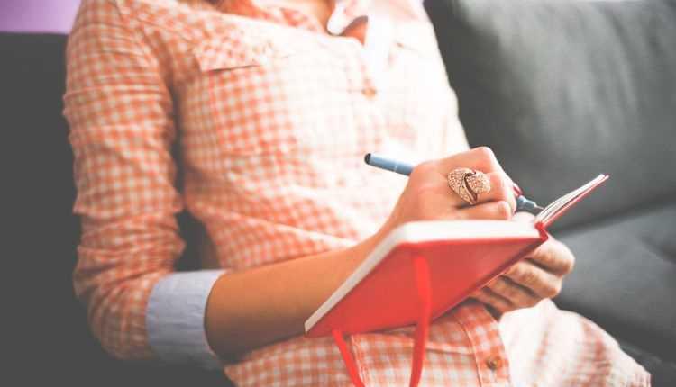 Journaling, girl, writing, diary