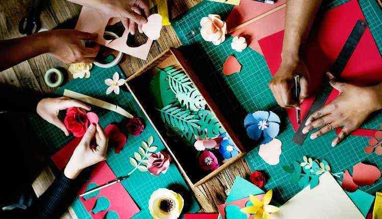 Handicrafts, college fest