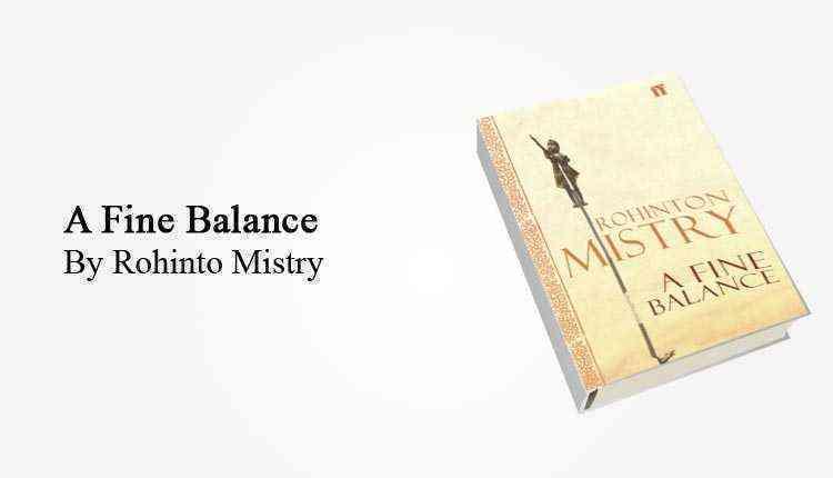 A Fine Balance, book, cover